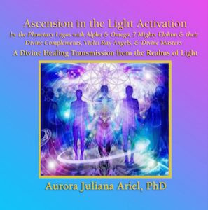 A Divine Healing Transmission From The Planetary Logos With Alpha And Omega 7 Mighty Elohim Their Complements Violet Ray Angels